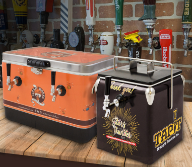 Branded brewery equipment